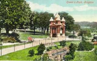 The drinking fountain in 1905