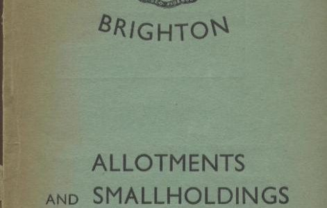 Brighton 'Digs for Victory': an allotment handbook from 1941
