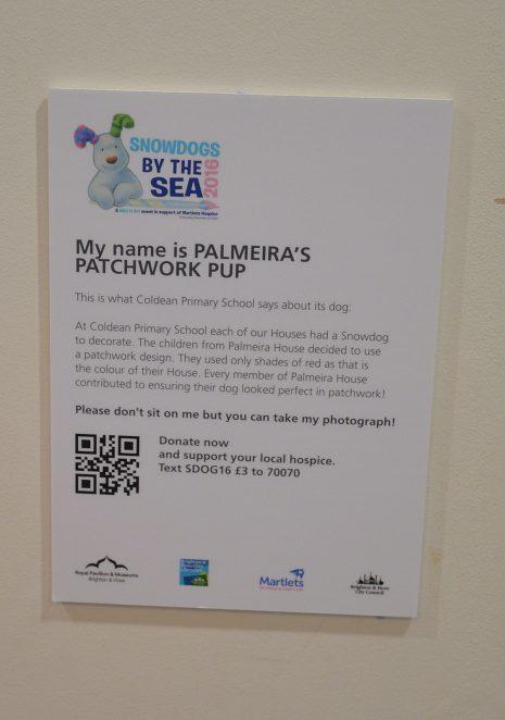 Palmeira's Patchwork Pup