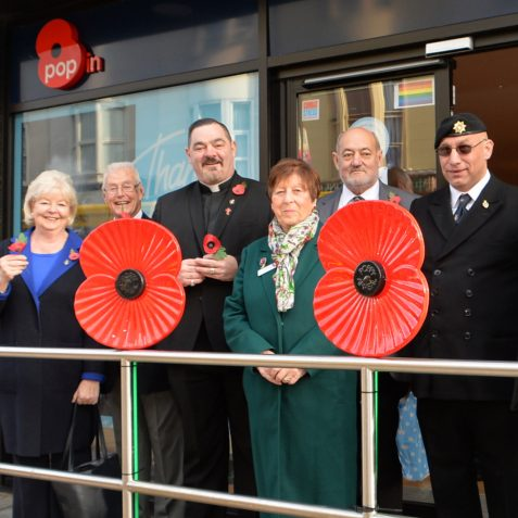 Royal British Legion | ©Photo by Tony Mould