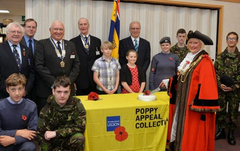 Launch of 2013 Poppy Appeal