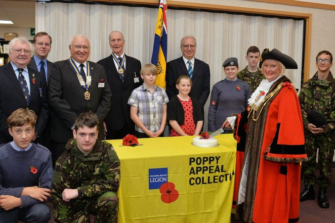 2013 Poppy Appeal launch | Photo by Tony Mould