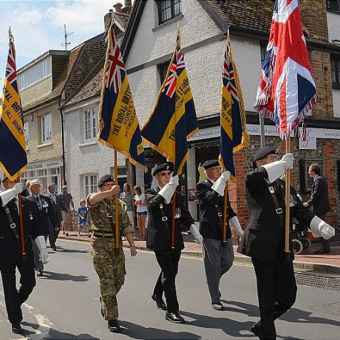 Rottingdean WWI 100th anniversary parade and service | ©Tony Mould: all images copyright protected