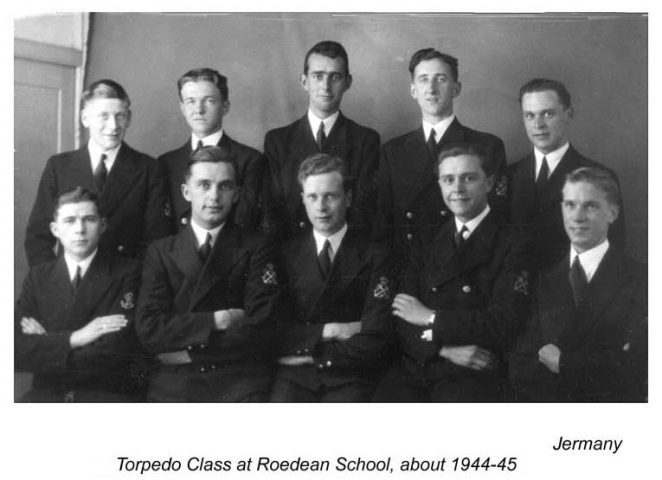 Roedean - Mines and Torpedos School 1945 | From the private collection of Christopher McBrien