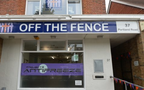 Off The Fence - Hygiene van