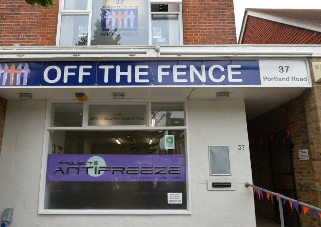 Off The Fence base | ©Photo by Tony Mould
