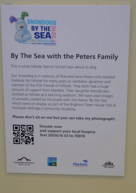 By the sea with the Peters family
