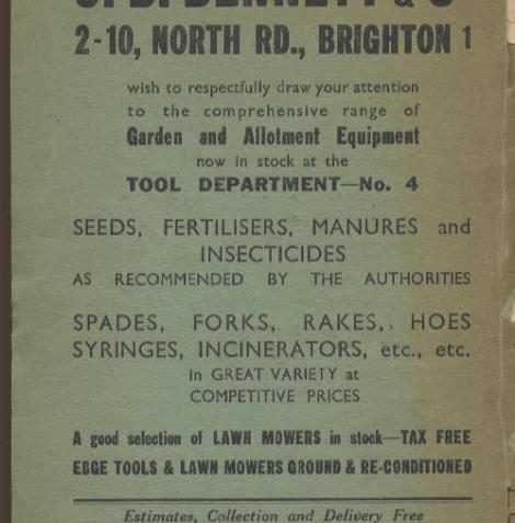 Back page | History Centre, Brighton and Hove Museum