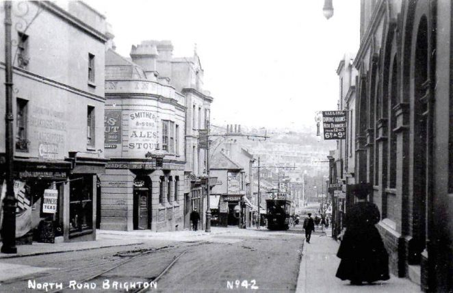 North Road; undated - click on image to open a larger image in a new window.   Royal Pavilion and Museums Brighton and Hove