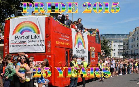 Pride 25 years anniversary