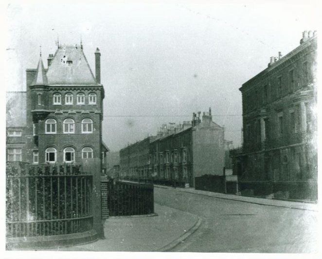 Photo of Madiera Mansions - next to the French Convalescent home   Photo from a private collection
