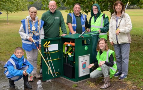 Superbin unveiled in Preston Park