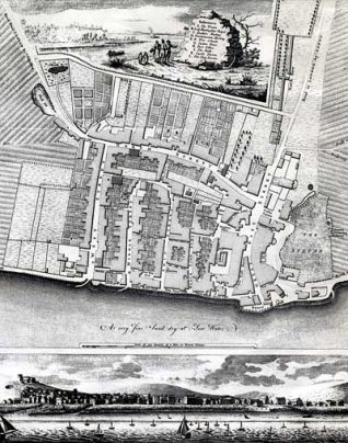 A potted history of Brighton | 1779 map of Brighton