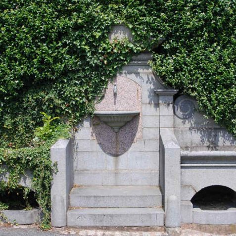 Peace Gardens: 1897 fountain   Photo by Tony Mould