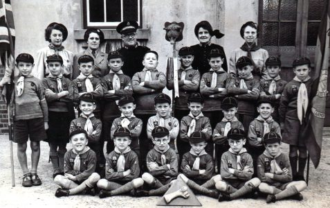 18th Hove Salvation Army Cub Pack c.1950