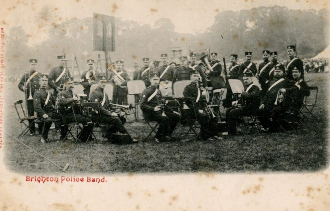 Brighton Police Band | From the private collection of Angela Ambrose