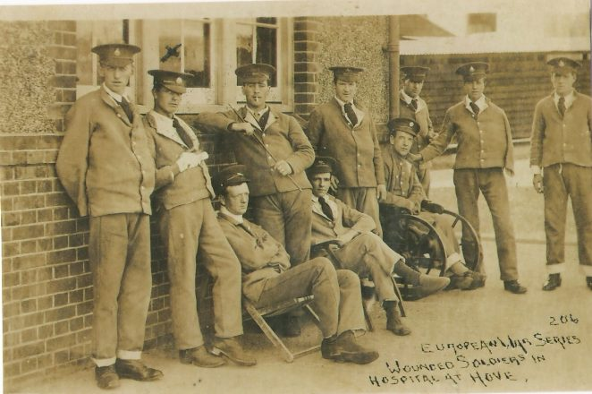 Wounded Soldiers in Hove