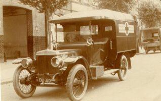 Brighton Ambulance 1918   Photo copyright of St John Ambulance