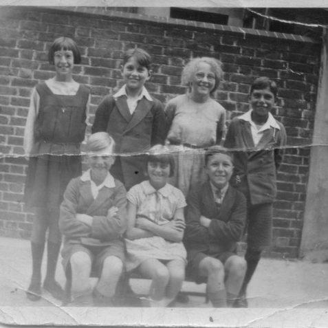 St Mary's School, Mount Street, Brighton circa 1930 | Wedlock family print