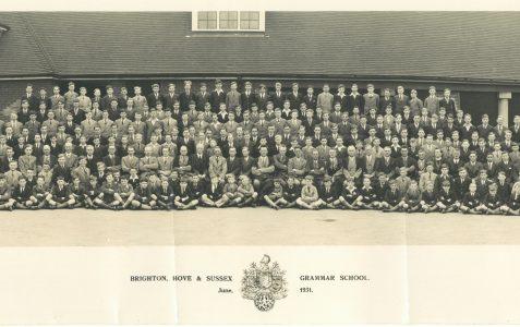 School photograph 1931