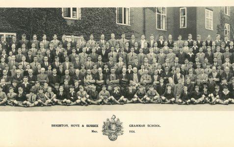 School photograph 1934