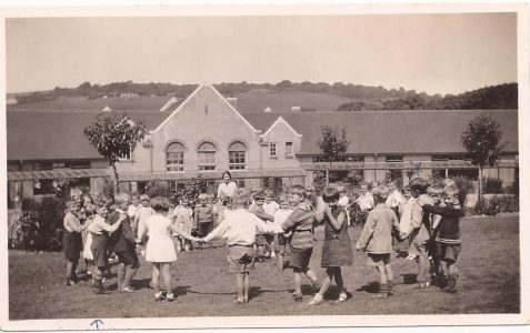 Infants playing c1936