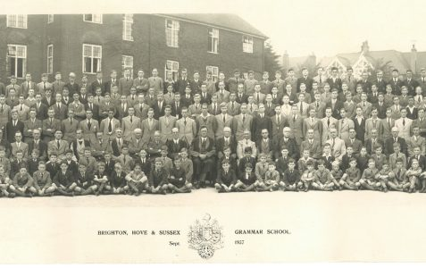School photograph 1937