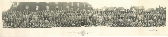 School photograph 1937 | BHASVIC Past and Present Association