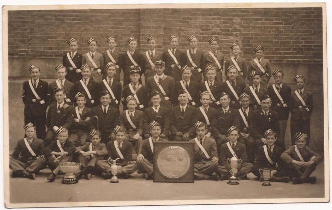 The 13th Brighton Boys' Brigade | From the private collection of Carole Barrow