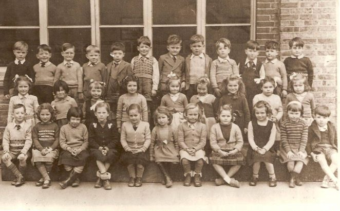Primary class c1950   From the private collection of Roger Sharman