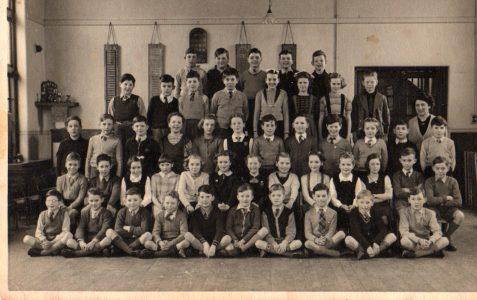 Miss Tugwell's class c1952/53