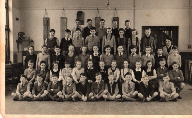 Miss Tugwell's class c1952/53 | From the private collection of Barry Ost