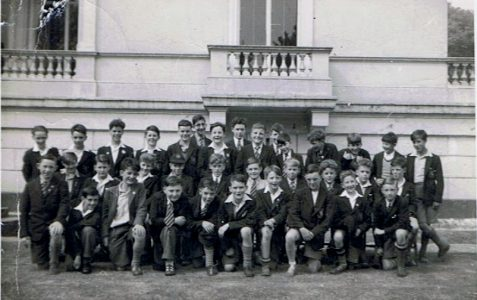 Class photograph - Lower Fourth 1955