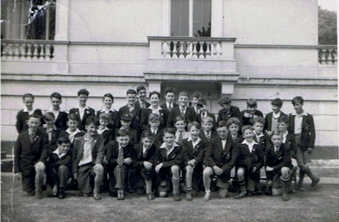 Class photograph - Lower Fourth 1955. Click on photograph to open a large image in a new window. | From the private collection of Thomas Paul