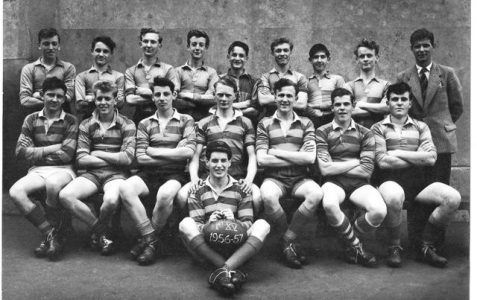 Building School 1st XV Rugby Team 1956/57