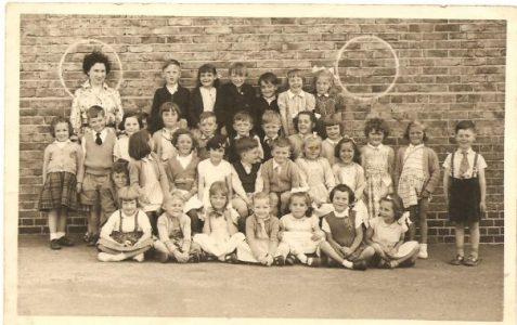 Class photograph c1950s