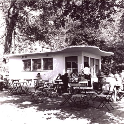 1960's Pavilion Gardens Cafe | From the private collection of Herbert Tennent