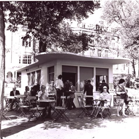 1960's Pavilion Gardens Cafe | Herbert Tennent