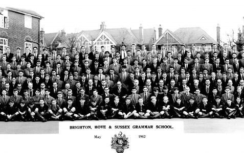 School photograph May 1962