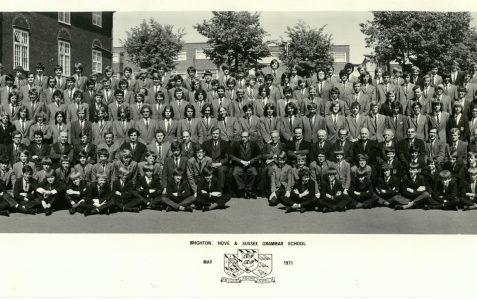 School photograph 1971