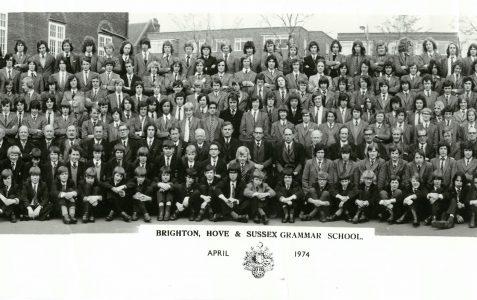 School photograph 1974