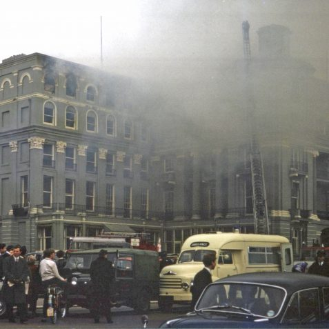 Bedford Hotel Fire 1st April 1964 | Collection of Clifford Musgrave