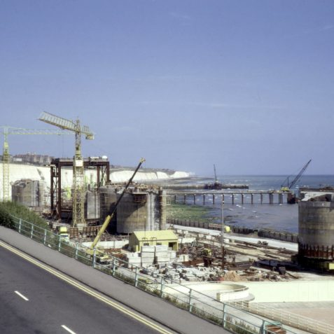 The Marina under construction 1973 | Collection of Clifford Musgrave