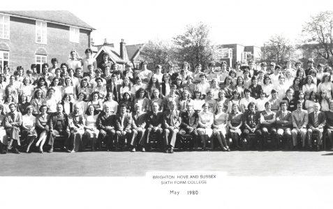 School photograph 1980