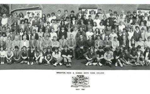 School photograph 1982