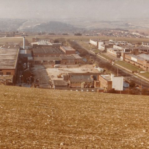 1985. Demolition of Leytool | From the private collection of Richard Griffiths (Talbot Tool)