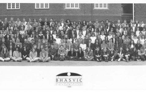 School photograph 1990