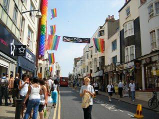 St James Street, Brighton Pride, 5th August 2006.   Photo by Sally Ann Clarke