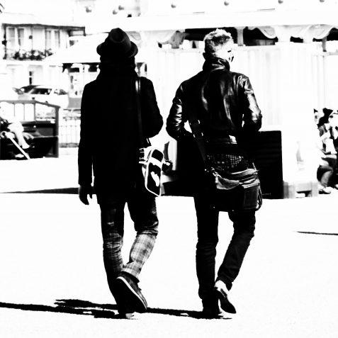 Brighton boys | Copyright Julie Tierney 2009