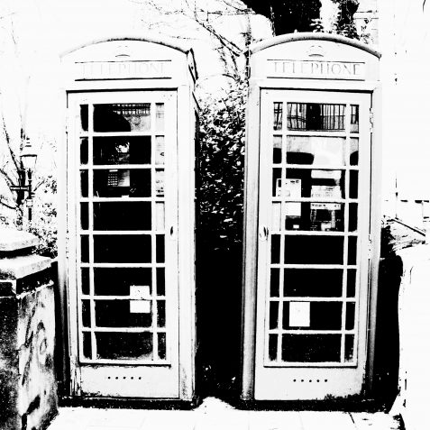 Red phone boxes | Copyright Julie Tierney 2009